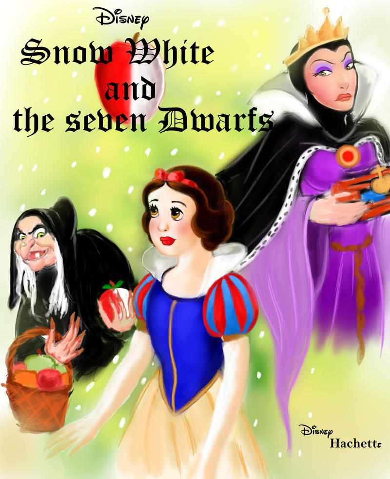 Book Cover Of Snow White : Snow white fan book cover by kevsoraone on deviantart