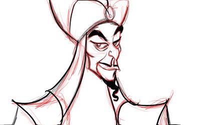 digital sketch  Jafar