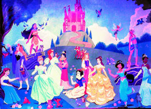 Disney Princesses-Fan Art