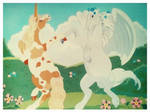 Unicorn and Pegasus Dance