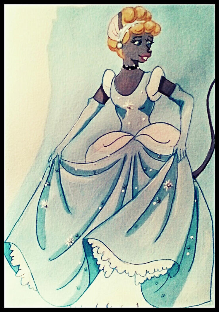 Cinderella by FlapperFoxy