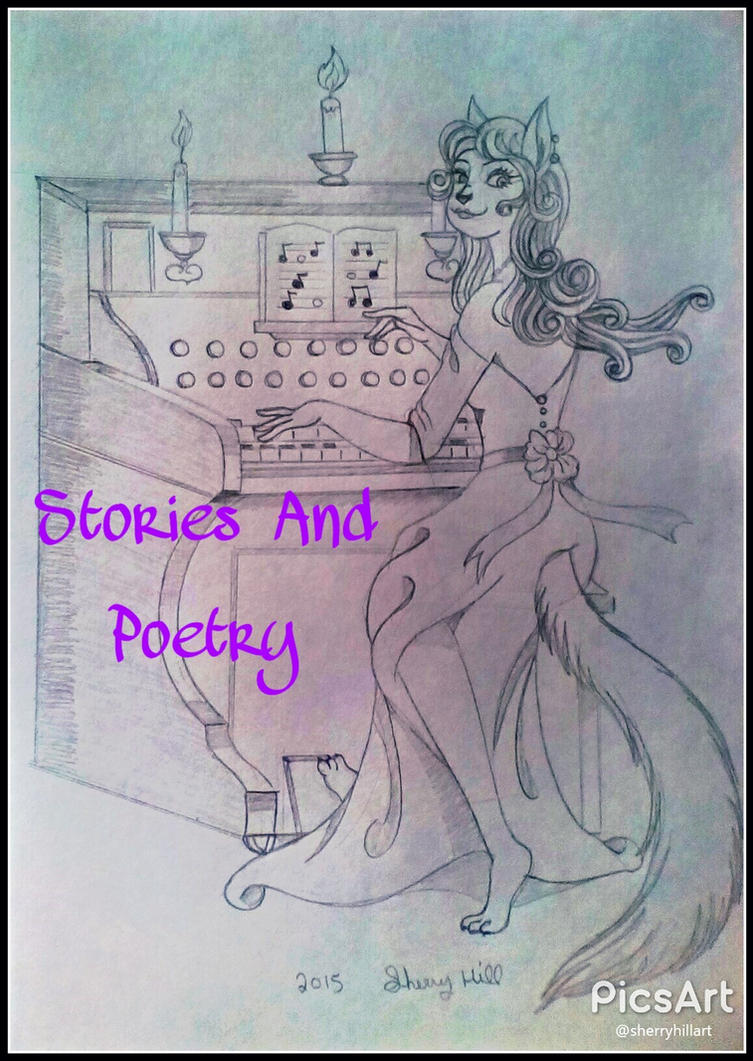Stories And Poetry-Front Picture by FlapperFoxy