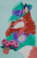 1940's Foxy by FlapperFoxy
