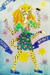 She's A Maniac On The Dancefloor