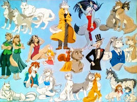 Wonderful Wolf Characters