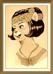 Flapper Frannie-Vintage Color
