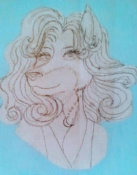 Farrah-Sketch