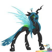 Queen Chrysalis by nightingalewolfie