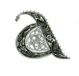 Celtic Lettering by ziade