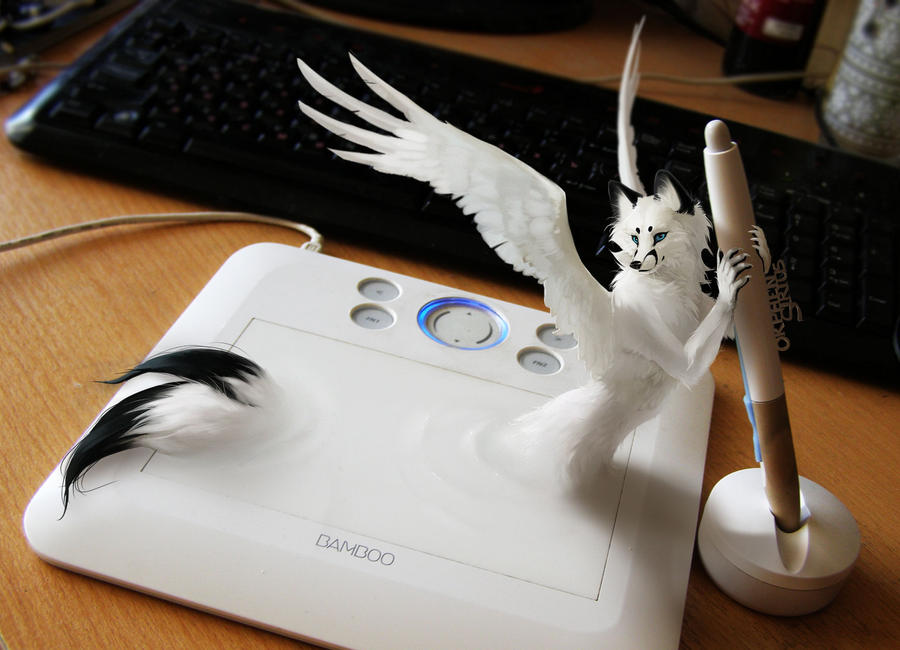 my Wacom and Orphen Sirius by Orphen-Sirius