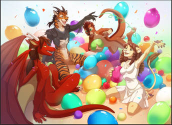 birthday party by Orphen-Sirius