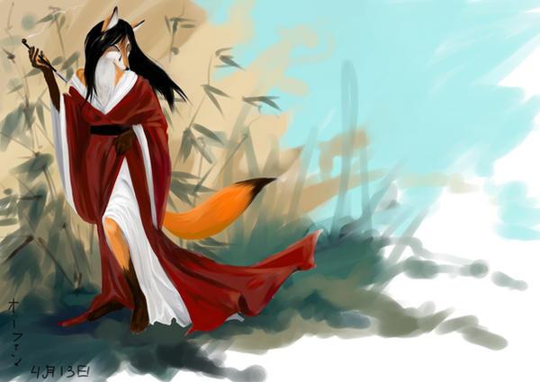 kitsune by yaminolady on DeviantArt