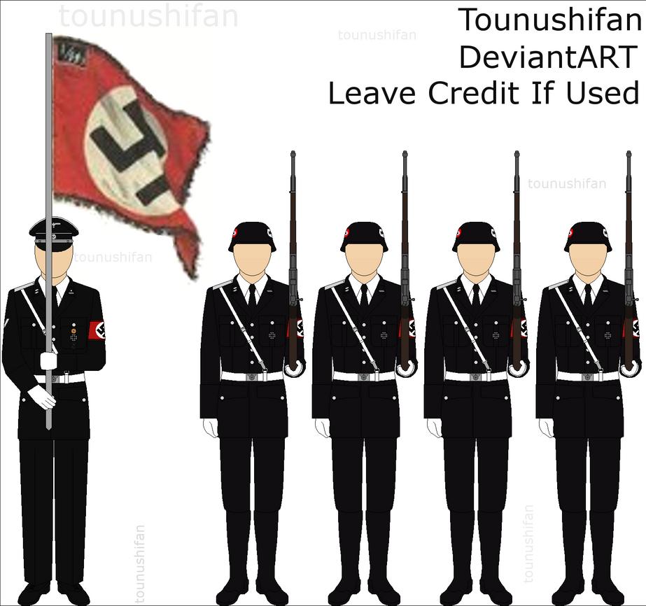 Waffen-SS Parade Uniforms    Waffen Ss Dress Uniform