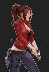 claire redfield by numikky