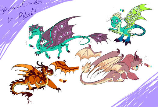 HTTYD Adopts (4/4 OPEN)