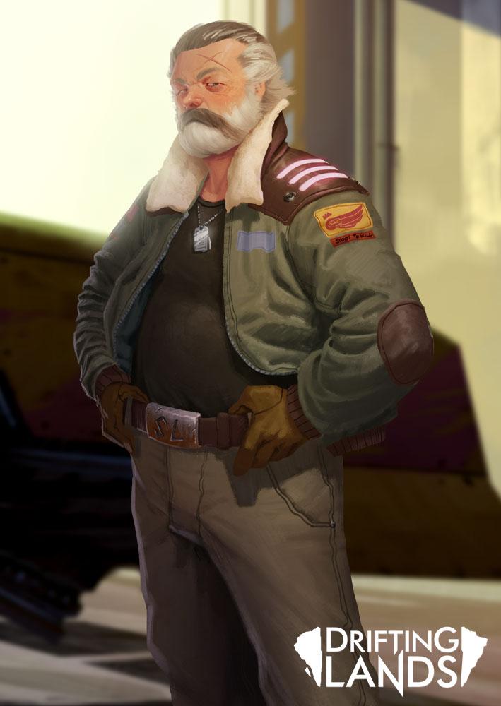 Old Pilot by DiChap