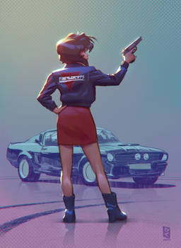 Rally, Gunsmith Cats, Fan art