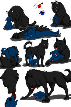 Sebi Ciel Canine Art Dump