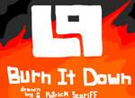LP Burn it Down (Fan Logo)