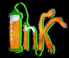 Splatoon: Ink Logo by Angel-Lynne