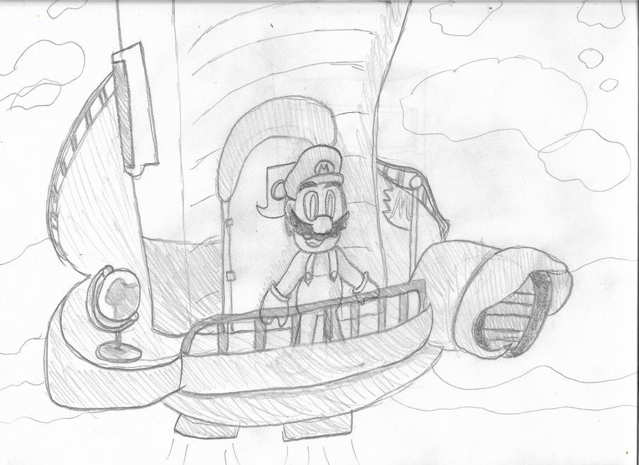 Super Mario Odyssey Sketch By Angel Lynne On Deviantart