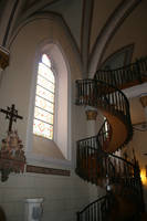 Cathedral and Spiral Staircase by goodiebagstock