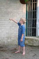 boy knocking 02 by goodiebagstock