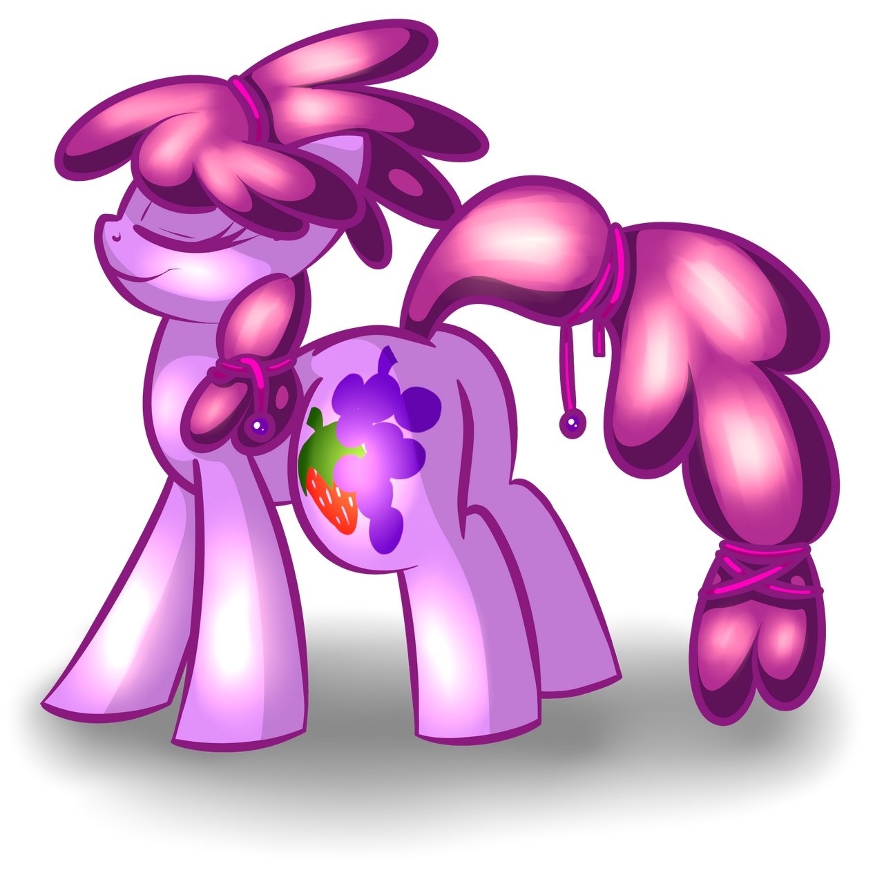 Crystal Berry by goldenmercurydragon