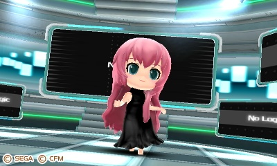 Future Stars Project Mirai - Unused Leia Module by Stewie1000