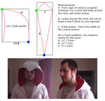 Basic Assassin's Creed hood pattern