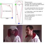 Basic Assassin's Creed hood pattern