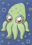 ACEO - Octo-Baby