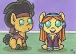 Baby Hippy Ponies