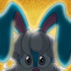 Cyber Hare - Glittery Glow