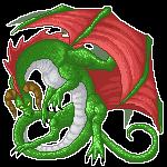 Pixel dragon by Niicchan