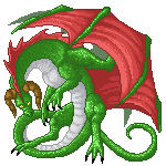 Pixel dragon by Niicchan