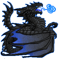 Black Dragon by Niicchan