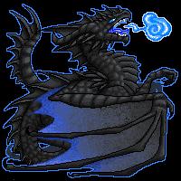 Black Dragon by Niicchan