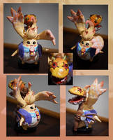 Xenoblade Chronicles-Riki Sculpture by Niicchan