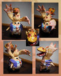 Xenoblade Chronicles-Riki Sculpture