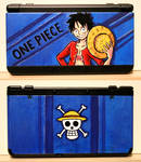 One Piece N3DS cover plates by Niicchan