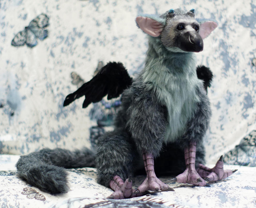 The Last Guardian-Trico Art Doll by Niicchan