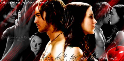 Richard + Kahlan Our Sacrifice by MetalChickCrisis2040