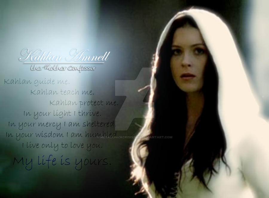 Devotion to Kahlan Version 1 by MetalChickCrisis2040