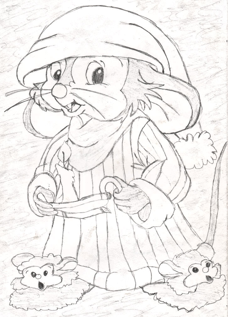 an american tail coloring pages - photo#13