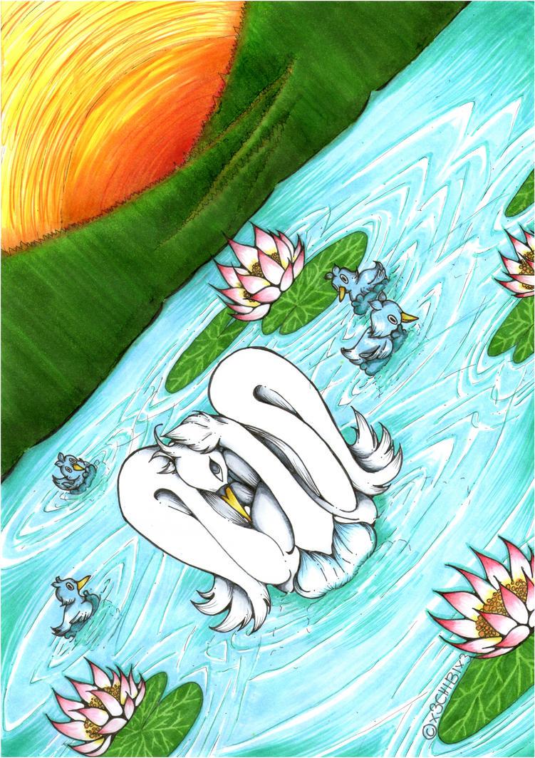 +The Swanna lake+ by x3Chibix3