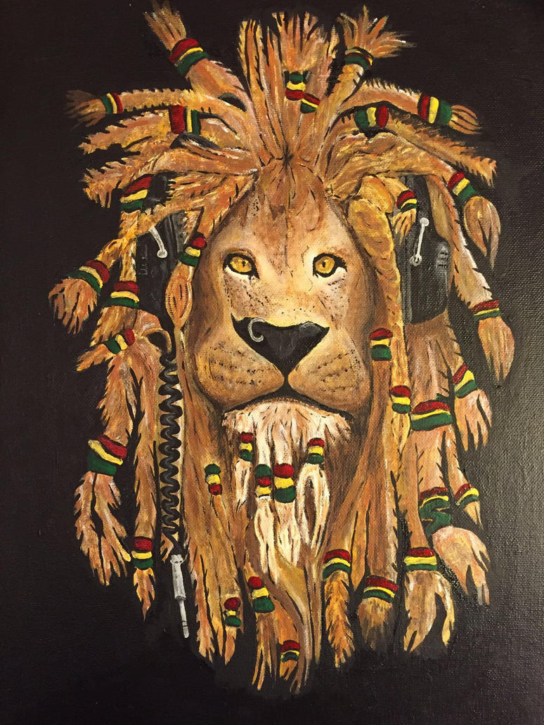 Rasta Lion By MammaRockers