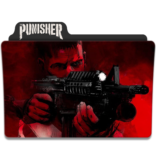 The Punisher Season 2 Folder Icon By Thegreataziz On Deviantart