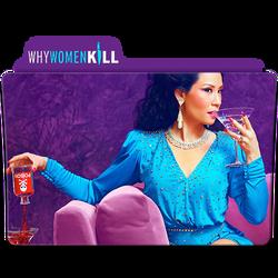 Why Women Kill Folder Icon (CBS All Access) by TheGreatAziz
