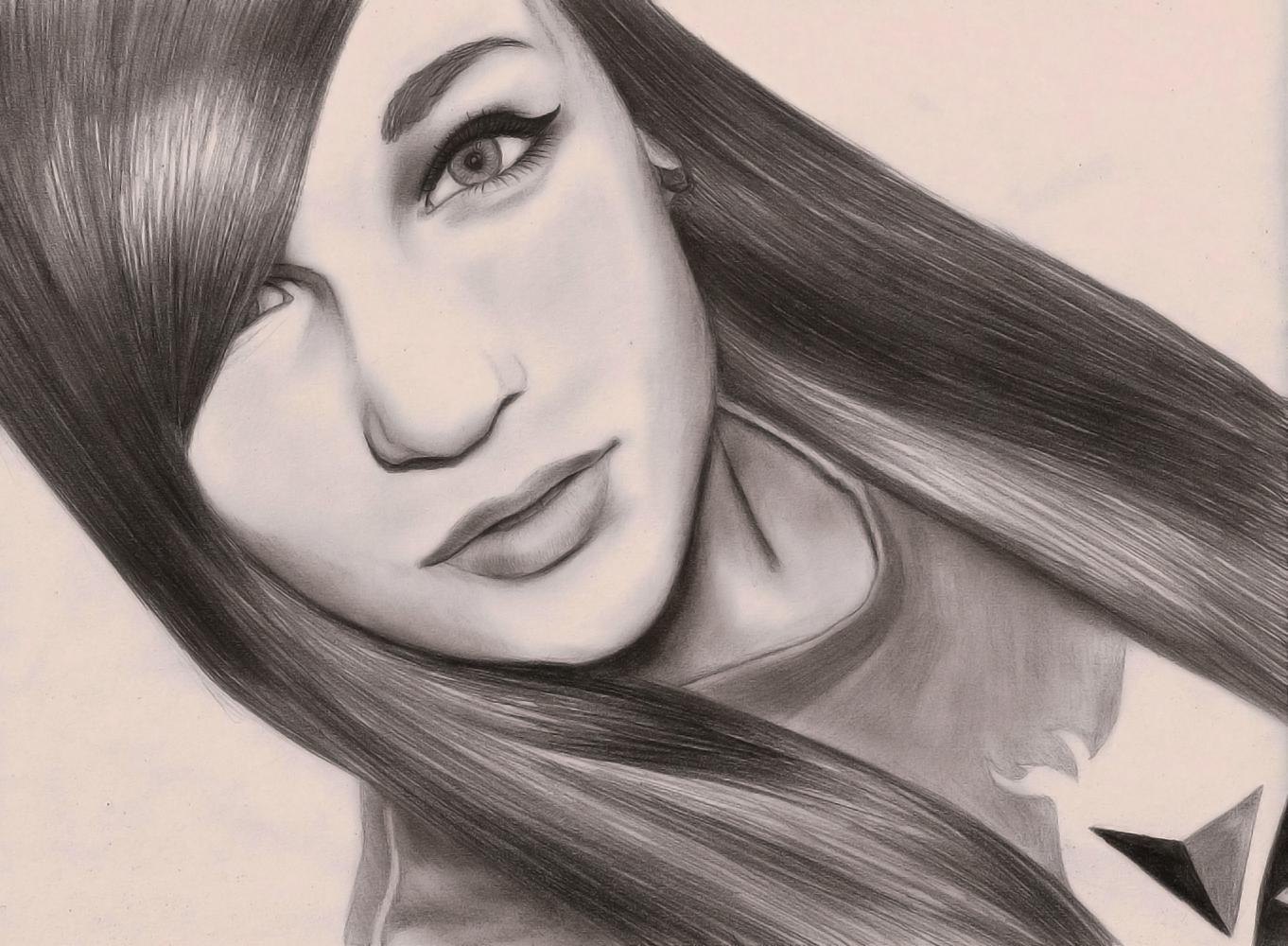 Pretty Girl By A0LANI On DeviantArt